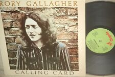 RORY GALLAGHER*CALLING CARD 1976*CHRYSALIS  FRANCE ORG *CHR1124*NM*superbe copy!