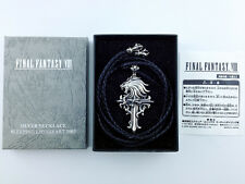 Final Fantasy VIII Silver 925 Necklace Sleeping Lionheart 2003 Square Enix LTD