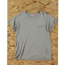 Size L Levis Vintage Clothing 1950s Sportswear Pocket T Shirt Grey Used