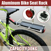 Alloy Bicycle Mountain Bike Rear Rack Seat Post Mount Bag Luggage Carrier Holder