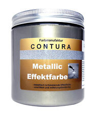 Effekt Farbe Antik Silber 100ml Metallic Silberlack Shabby Chic Schablone Acryl