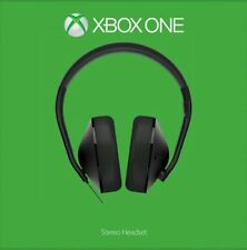 Xbox One Stereo Gaming Headset Microsoft Boxed! Perfect Sound! Mic fault! £14.99