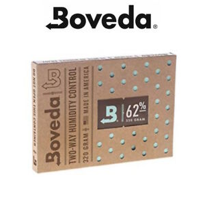 Neuf Boveda 62% Rh 2-way Humidité Control 320 Gramme Pack Humidor Soin