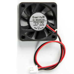 Wired Creality Ender-6 3D Printer 4010 4020 Cooling Fan Black