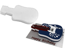Guitar Shape Birthday Wedding Anniversary Cake Tin