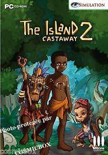 The ISLAND CASTAWAY 2 jeu PC simulation de vie en tribu Africaine - en Français