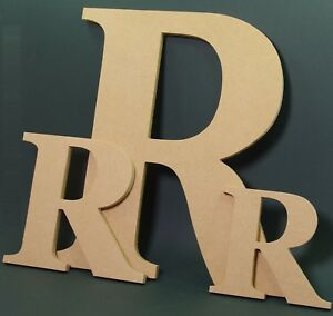 EXTRA LARGE 28 cm Wooden letters made from MDF-Hand made-Names-Signs-Georgia