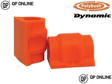 POLYBUSH DYNAMIC ORANGE FRONT ANTI ROLL BAR BUSH KIT DISCOVERY 3/4 RBX000571PY