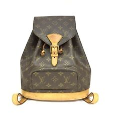 100% Authentic Louis Vuitton Monogram Montsouris MM Backpack /40202
