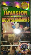 WWF Invasion of the Bodyslammers SEALED VHS Coliseum Video NEW WWE HBK Hart Hall