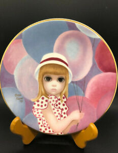 Big Eyes Margaret Keane 1976 The Balloon Girl Limited Edition Collector Plate
