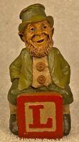 """ALPHABET """"L""""-R 1993~Tom Clark Gnome~Cairn #5236~Ed #82~Hand Signed~w/COA & Story"""