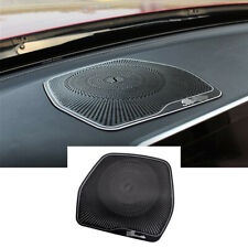 Alloy Console Dashboard Speaker Cover For Mercedes Benz C GLC Class W205 2015-20