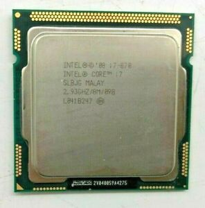 Intel Core i7-870 SLBJG - 2,93GHz - 8MB - Quad Core - Sockel LGA1156 #917