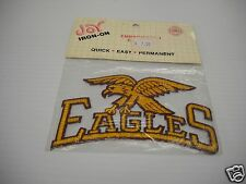 Officially Licensed NCAA Embroidered Emblems- Joy Iron-on Boston College Eagles