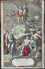 TITLE PAGE 1720 ORIGINAL COPPER ENGRAVING ATLAS NOVUS HOMANN