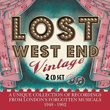 Lost West End Vintage  Londons Forgotten Musicals 19481962 [CD]