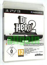 Gioco PS3 Playstation 3 DJ HERO 2 Activision 2010 BLES-00896