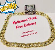 Gold Party Punk Chain Necklace Collier Dollars Hip Pop Fashion Pendant Dress Up