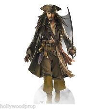 JOHNNY DEPP JACK SPARROW PIRATES OF THE CARIBBEAN STANDUP STANDEE CUTOUT POSTER