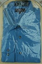 MARKS & SPENCER Luxury Pure Cotton Twill Shirt Long Sleeve17inch collar RRP £45