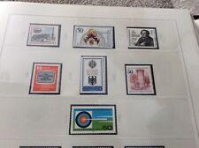 Berlin 1979.  7 sets unmounted  mint stamps botanical gardens etc