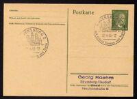 █ Ganzsache RAVENSBURG 2 Cachet Spécial 02/04/43 WW2 █