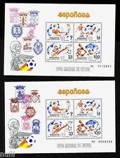 Spain Edifil # 2664/2665 MNH Set football / soccer / football World Cup 1982
