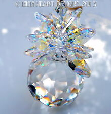 m/w Swarovski Mozart Twist Aurora Leaves Pineapple Suncatcher Lilli Heart Desigs
