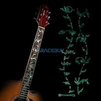 Guitar Inlay Sticker Tree of Life Bass Fretboard Decal DIY Mark on Neck GREEN