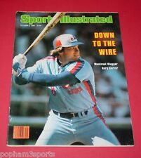 GARY CARTER - Sports Illustrated SI - Montreal Expos - October 6, 1980 LR