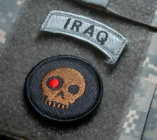 KANDAHAR-WHACKER© RANGERS SNIPER ACU burdock 2-TAB: †TERMINATOR SKULL + IRAQ