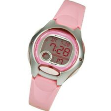 Casio LW200-4B Ladies Pink Digital Sports Watch 10 Year Battery Chronograph NEW