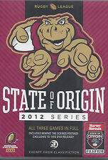 NRL - State Of Origin 2012 - All 3 Games (3 Disc DVD)