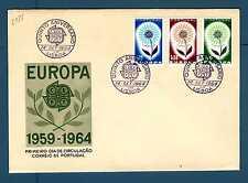 PORTUGAL - PORTOGALLO - 1964 - FDC - Europa - Fiore con 22 petali. E2977