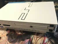PlayStation 2 Console - White - Custom Painted -  (PS2 Cleaned & Tested)