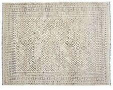 13'5 x 9'7 Brown Large Handwoven Afghan Wool Kilim Area Rug Color Carpet #6178