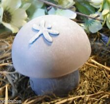 Mushroom MOLD 2 piece SMALL dragonfly mushroom mold plaster concrete  mould