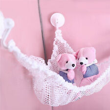 Toy Hammock Hanging Storage Net Stuffed Animals Toys For Kids Organizer White FD