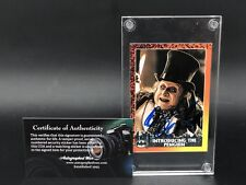 Batman Returns Autographed Signed Trading Card Danny DeVito Penguin w/COA