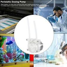DC 6V Peristaltic Liquid Pump Dosing Pump Seal Hose Pumps for Aquarium Household