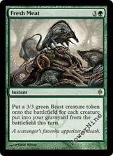 4 FOIL Fresh Meat - Green New Phyrexia Mtg Magic Rare 4x x4
