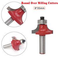 Runde über Router Bit Bearing guided cutter 35mm Durchmesser  8mm Schaft Fräser
