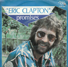 """7"""" 45 TOURS BELGIQUE ERIC CLAPTON """"Promises / Watch Out For Lucy"""" 1978"""