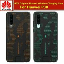 Official Genuine Huawei P30 Qi Wireless Charging Case - Sparkle Blue / Orange