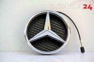 Mercedes Benz W166 2012-2015 ML Class Genuine Illuminated Star Hood Star Logo Em