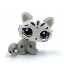 LPS toys Littlest Pet Shop cat SPHYNX cat #3585 white kitty for Girl's present