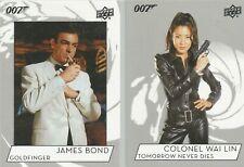 Upper Deck James Bond Collection 2019 - 100 Card Base Set #1-100