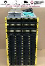 More details for hpe 3par 7400 114tb 3 tier san storage solution (10gbit iscsi / 16gb fc)