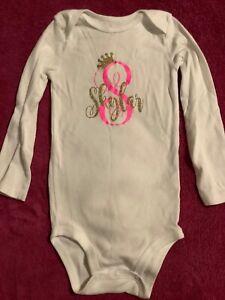 NWOT Carter's Baby Girl's Bodysuit, size 24 months